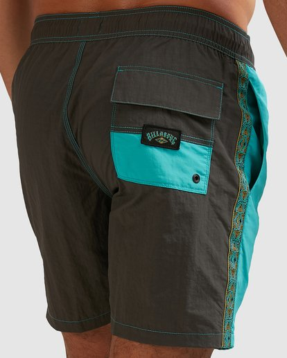 6 Currents Layback Boardshorts Green 9517428 Billabong