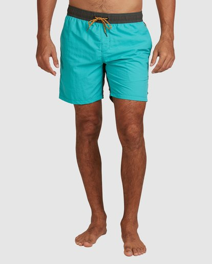 3 Currents Layback Boardshorts Green 9517428 Billabong