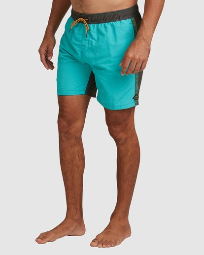 4 Currents Layback Boardshorts Green 9517428 Billabong