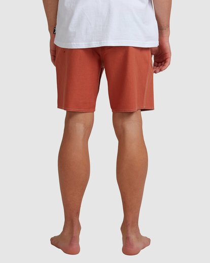 4 Surftrek Hemp Lotide Boardshorts Orange 9517430 Billabong