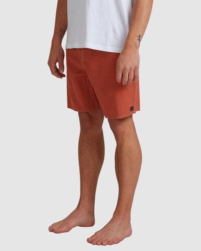 3 Surftrek Hemp Lotide Boardshorts Orange 9517430 Billabong
