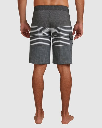 9 All Day Heather Stripe Pro Boardshorts Black 9517445 Billabong