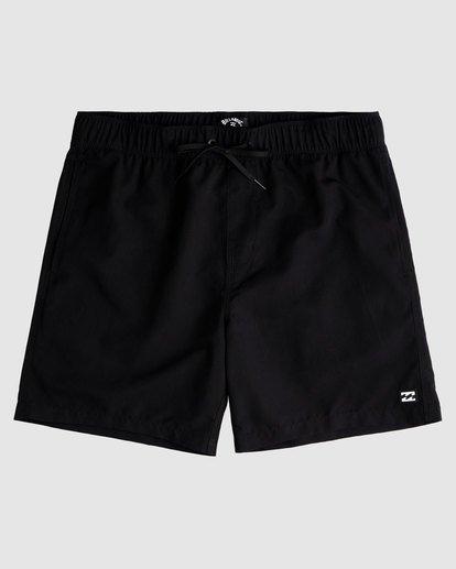 0 All Day Layback Boardshorts Black 9517450 Billabong