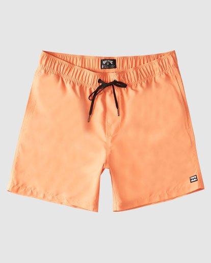 0 All Day Layback Boardshorts Orange 9517450 Billabong