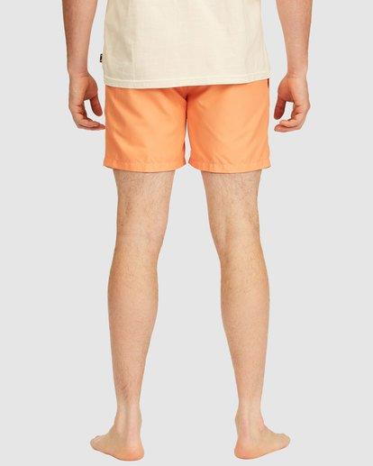 5 All Day Layback Boardshorts Orange 9517450 Billabong