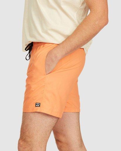 6 All Day Layback Boardshorts Orange 9517450 Billabong