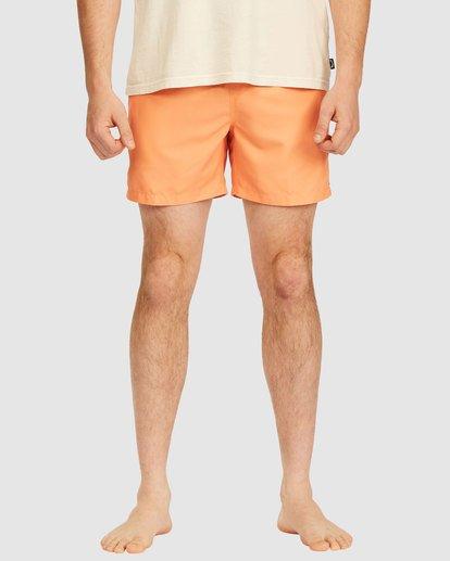 2 All Day Layback Boardshorts Orange 9517450 Billabong