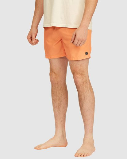 3 All Day Layback Boardshorts Orange 9517450 Billabong