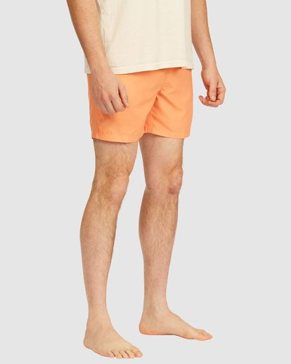 4 All Day Layback Boardshorts Orange 9517450 Billabong