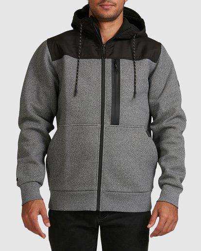 0 Quady Furnace Zip Grey 9517626 Billabong
