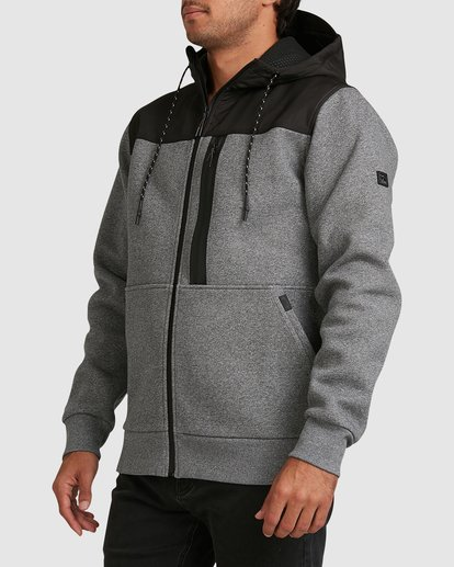 1 Quady Furnace Zip Grey 9517626 Billabong