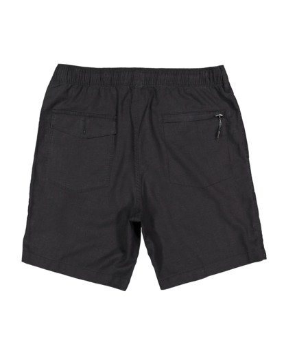 1 A/DIV Surftrek Hemp Shorts Black 9517704 Billabong