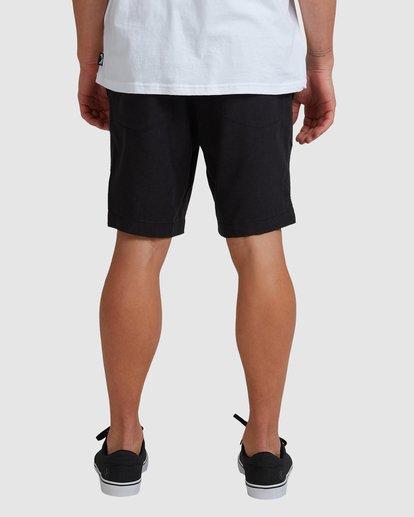 4 A/DIV Surftrek Hemp Shorts Black 9517704 Billabong