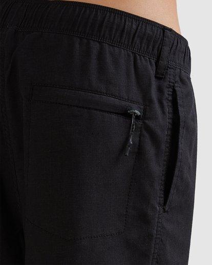 5 A/DIV Surftrek Hemp Shorts Black 9517704 Billabong