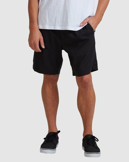 2 A/DIV Surftrek Hemp Shorts Black 9517704 Billabong
