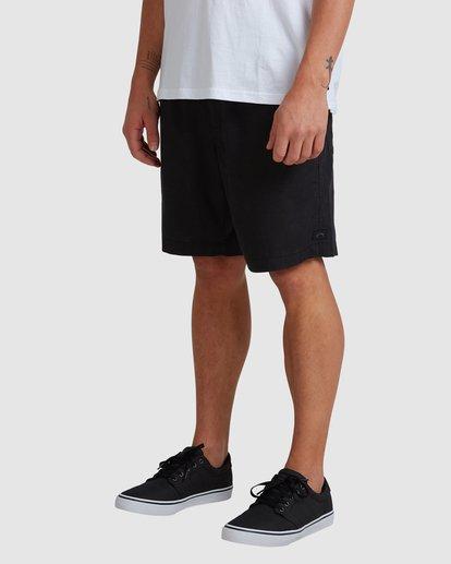 3 A/DIV Surftrek Hemp Shorts Black 9517704 Billabong