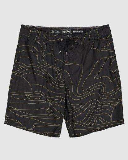 0 Surftrek Perf Dune Lines Shorts Black 9517716 Billabong