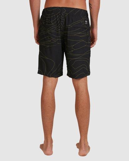 5 Surftrek Perf Dune Lines Shorts Black 9517716 Billabong