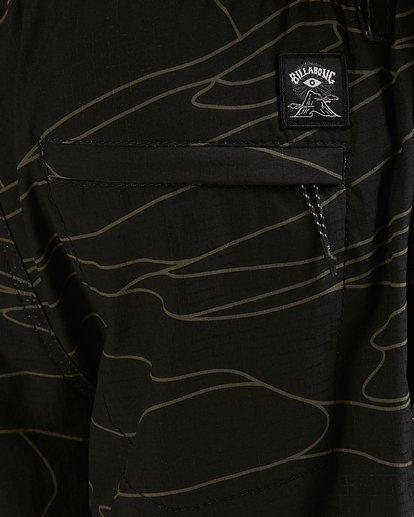 6 Surftrek Perf Dune Lines Shorts Black 9517716 Billabong