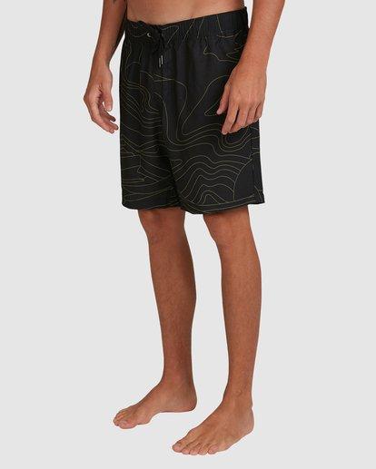 4 Surftrek Perf Dune Lines Shorts Black 9517716 Billabong