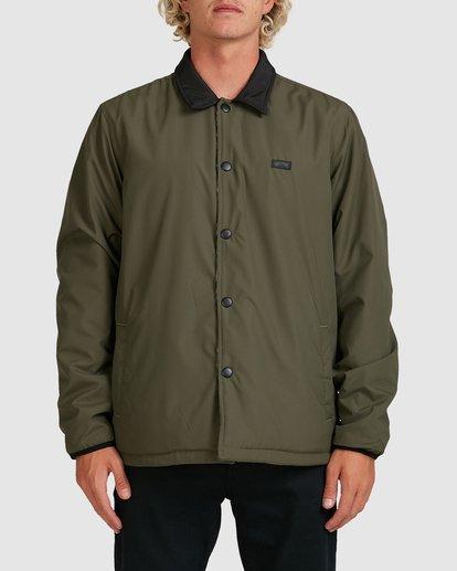 0 Furnace Jacket Green 9517911 Billabong