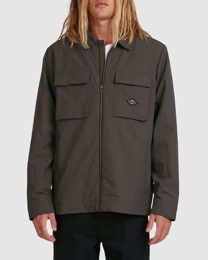 0 Currents Windbreaker Jacket Black 9517913 Billabong