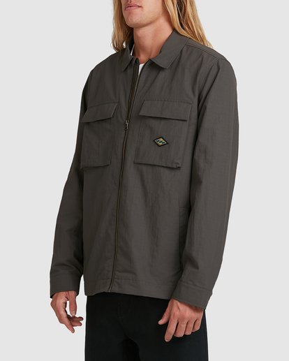 1 Currents Windbreaker Jacket Black 9517913 Billabong