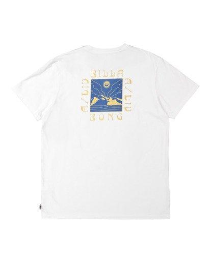 5 A/DIV Frontier T-Shirt White 9518027 Billabong