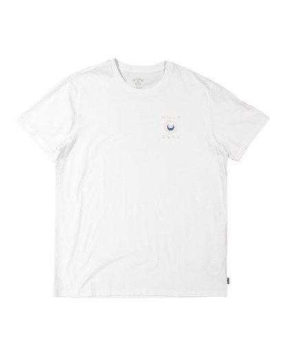 4 A/DIV Frontier T-Shirt White 9518027 Billabong