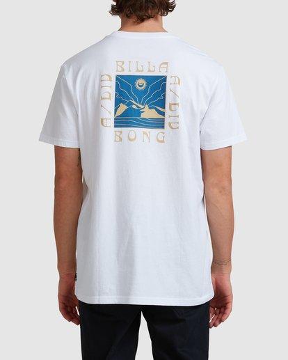 2 A/DIV Frontier T-Shirt White 9518027 Billabong