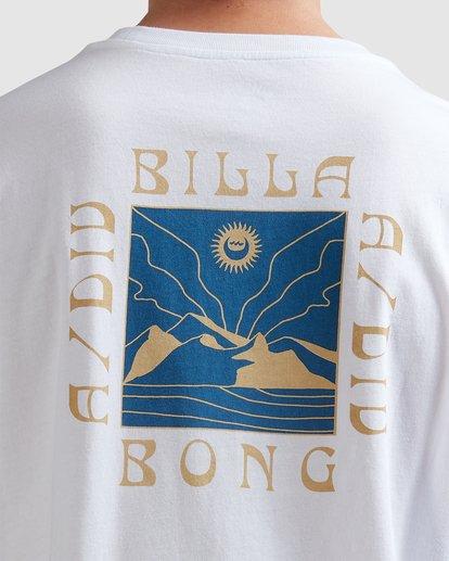 3 A/DIV Frontier T-Shirt White 9518027 Billabong