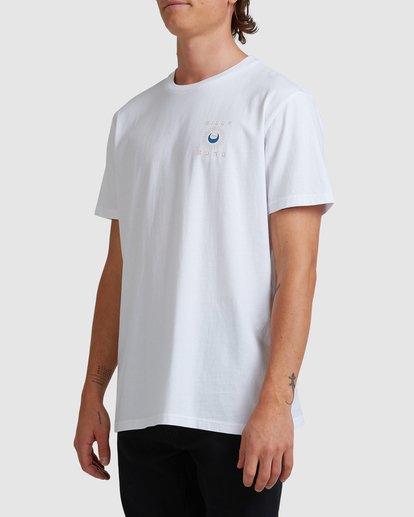 1 A/DIV Frontier T-Shirt White 9518027 Billabong