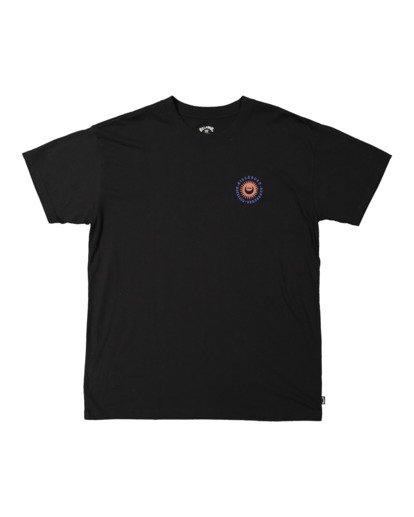 4 A/DIV Eclipse T-Shirt Black 9518028 Billabong