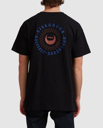 2 A/DIV Eclipse T-Shirt Black 9518028 Billabong