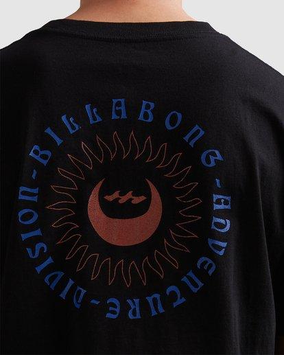 3 A/DIV Eclipse T-Shirt Black 9518028 Billabong