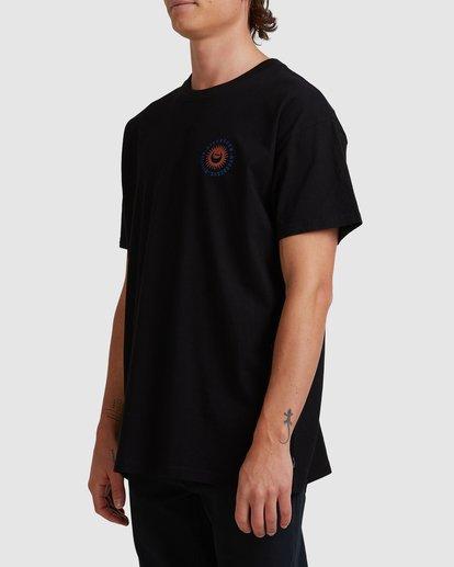 1 A/DIV Eclipse T-Shirt Black 9518028 Billabong