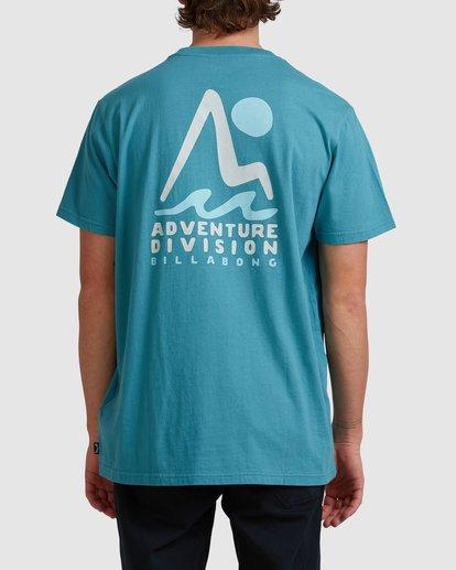 2 A/DIV Tour Division T-Shirt Multicolor 9518029 Billabong
