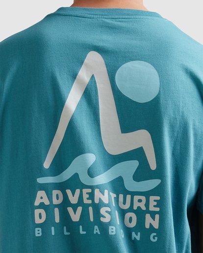 3 A/DIV Tour Division T-Shirt Multicolor 9518029 Billabong