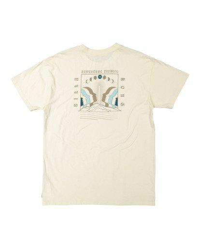 5 A/DIV Lunar Phase T-Shirt Grey 9518031 Billabong