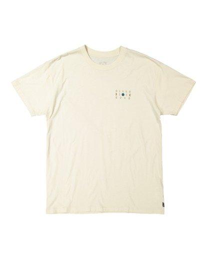 4 A/DIV Lunar Phase T-Shirt Grey 9518031 Billabong