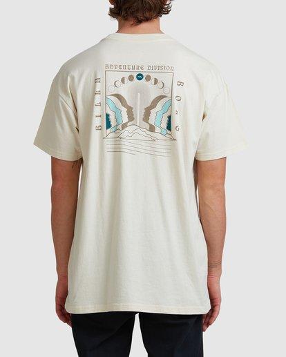 2 A/DIV Lunar Phase T-Shirt Grey 9518031 Billabong