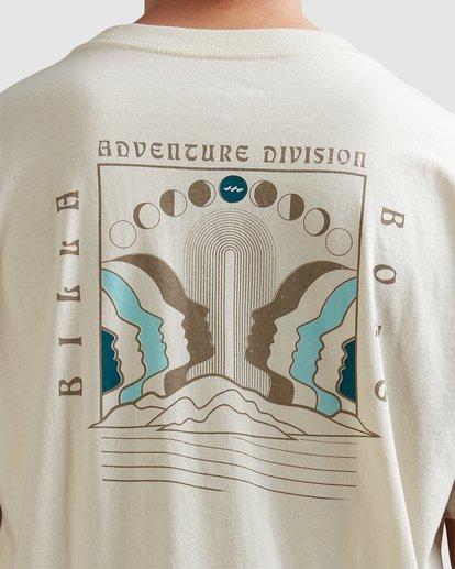 3 A/DIV Lunar Phase T-Shirt Grey 9518031 Billabong