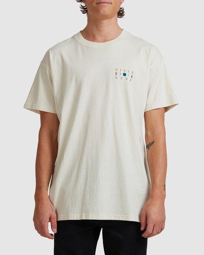 0 A/DIV Lunar Phase T-Shirt Grey 9518031 Billabong
