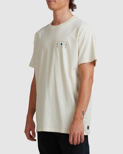 1 A/DIV Lunar Phase T-Shirt Grey 9518031 Billabong