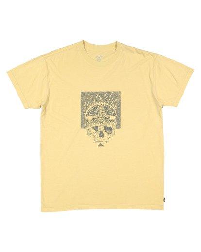 4 Medicine Short Sleeve Tee Yellow 9518032 Billabong