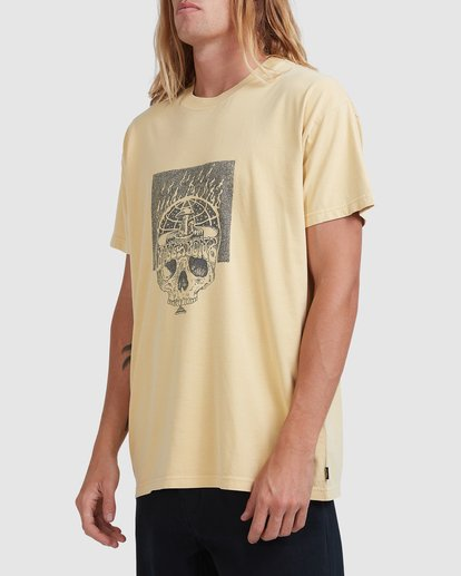 1 Medicine Short Sleeve Tee Yellow 9518032 Billabong