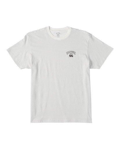 4 Native Stripe Short Sleeve Tee White 9518040 Billabong
