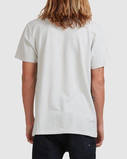 2 Native Stripe Short Sleeve Tee White 9518040 Billabong
