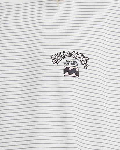 3 Native Stripe Short Sleeve Tee White 9518040 Billabong