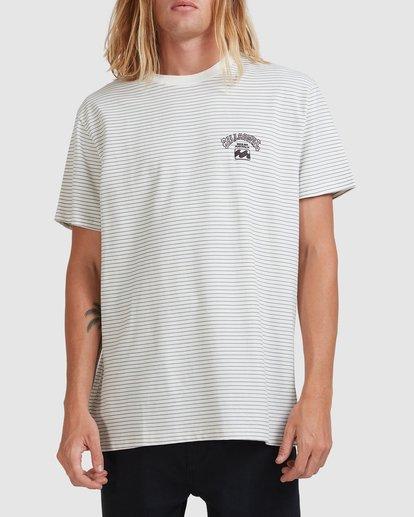 0 Native Stripe Short Sleeve Tee White 9518040 Billabong